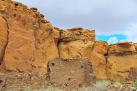 Chaco Canyon ( The old homesteads )